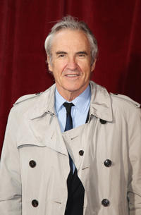 Larry Lamb at the British Soap Awards 2010 in England.