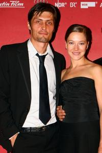Stipe Erceg and Hannah Herzsprung at the German premiere of