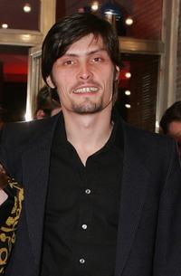 Stipe Erceg at the premiere of