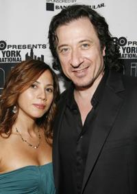 Elizabeth Rodriguez and Federico Castelluccio at the screening of