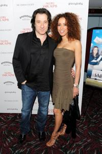 Federico Castelluccio and Yvonne Maria Schaefer at the screening of