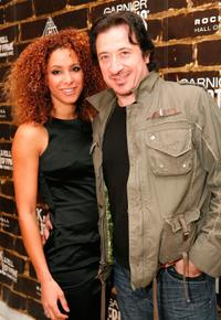 Federico Castelluccio and Guest at the grand opening of the Rock and Roll Hall of Fame ANNEX NYC.