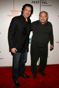 Federico Castelluccio and Burt Young at the premiere of