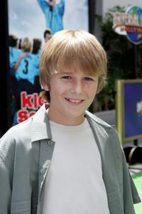 Dylan McLaughlin at the premiere of