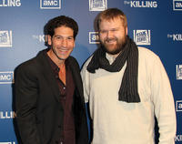 Jon Bernthal and Executive producer Robert Kirkamn at the California premiere of