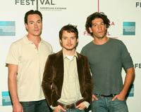 Chris Klein, Elijah Wood and Jon Bernthal at the 2007 Tribeca Film Festival.
