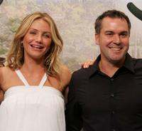 Cameron Diaz and Chris Miller at the Korean premiere of