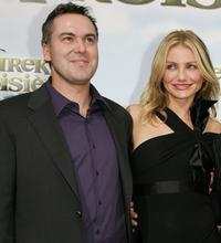 Chris Miller and Cameron Diaz at the premiere of