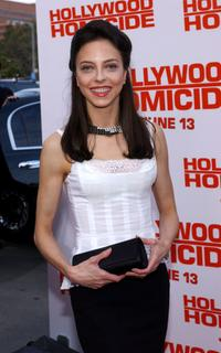 Juliet Landau at the premiere of