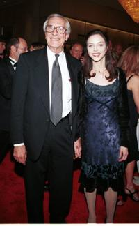 Martin Landau and Juliet Landau at the Hollywood Film Festival Awards ceremony.