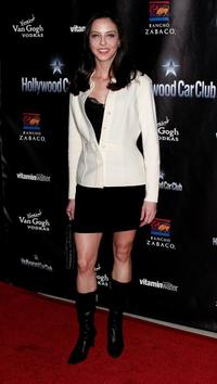 Juliet Landau at the Hollywood Car Club Launch.