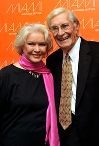 Ellen Burstyn and Martin Landau at the premiere of
