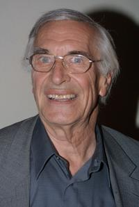 Martin Landau at the Wonder-ful Fashion Show.