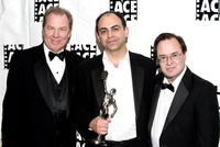 Michael McKean, Peter Chakos and David L. Lander at the 54th Annual ACE Eddie Awards.