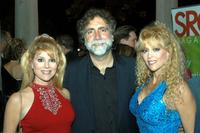 Audrey Landers, Producer David Garber and Judy Landers at the opening night of the Sarasota Film Festival.