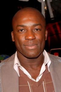 Deobia Oparei at the premiere of