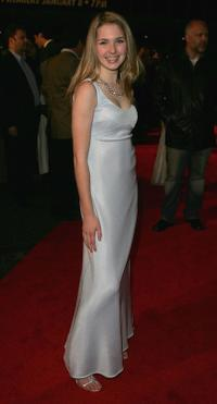 Kirsten Prout at the premiere of