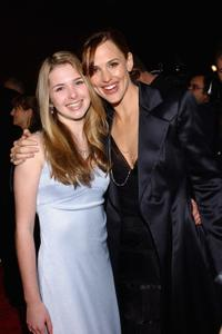 Kirsten Prout and Jennifer Garner at the premiere of