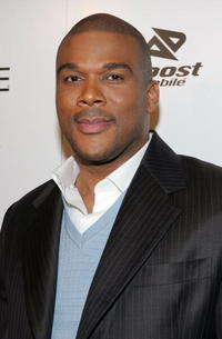 "Tyler Perry at the premiere of ""Madeas Family Reunion"" in Hollywood, CA."