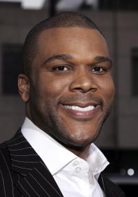 "Tyler Perry at the premiere of ""Akeelah and the Bee"" in Beverly Hills, CA."