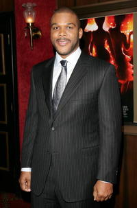 "Tyler Perry at the ""Dreamgirls"" premiere in New York City."