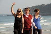 Cecilia Roth, Arturo Goetz and Ines Efron at the photocall of