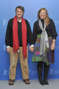 Arturo Goetz and director Natalia Smirnoff at the photocall of