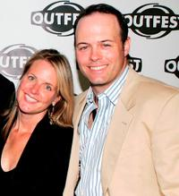 Hilary Newsom and Geoff Callan at the screening of
