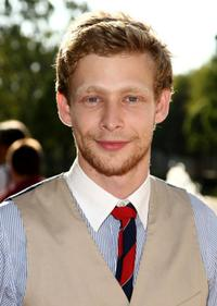 Johnny Lewis at the premiere screening of