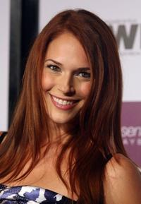 Amanda Righetti at the Entertainment Weekly and Women In Film's Pre-Emmy party.