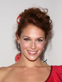 Amanda Righetti at the CBS New Season Celebration.
