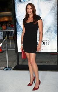 Amanda Righetti at the premiere of