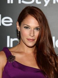 Amanda Righetti at the InStyle Magazine's 8th Annual Summer Soiree.