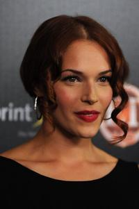 Amanda Righetti at the TV Guide Magazine's Hot List party.