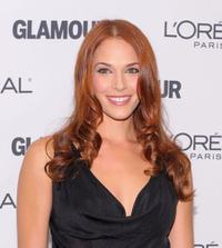 Amanda Righetti at the Glamour Magazine 2009 Women of The Year Honors.