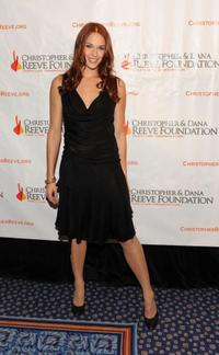 Amanda Righetti at the Christopher and Dana Reeve Foundation's