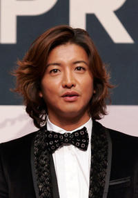 Takuya Kimura at the press conference of gala presentation of