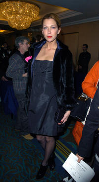 Margo Stilley at the Julien Macdonald LFW Autumn/Winter 2008 show in London.
