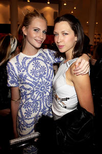 Poppy Delevigne and Margo Stilley at the Gucci Icon Temporary store opening in London.