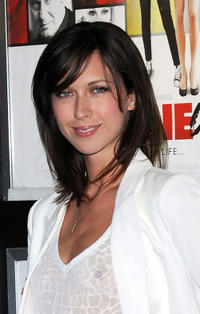 Margo Stilley at the London premiere of