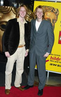 James and Oliver Phelps at the British Academy Children's Film and Television Awards.