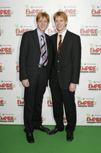 James and Oliver Phelps at the Sony Ericsson Empire Film Awards 2006.