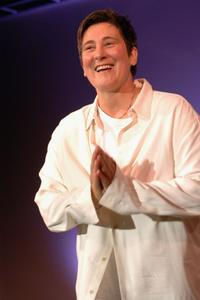 k.d. lang at the Project Angel Food's Angel Awards Gala.