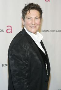 k.d. lang at the Elton John AIDS Foundation's sixth annual benefit
