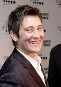k.d. lang at the 12th Annual GLAAD Media Awards.