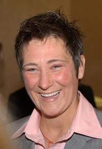 k.d. lang at the 19th Annual ASCAP Pop Music Awards.