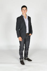 David Henrie at the portrait session of 2011 NHL Awards in Nevada.