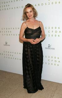 Jessica Lange at the 2006 CFDA Awards ceremony.