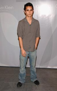 Max Minghella at the Francisco Costa's Spring 2007 Calvin Klein Collection for Women after party.