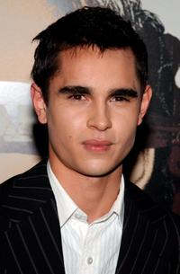 Max Minghella at the premiere of